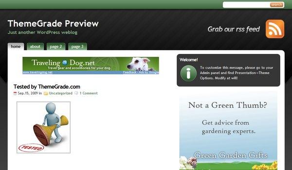 StudioPress Green