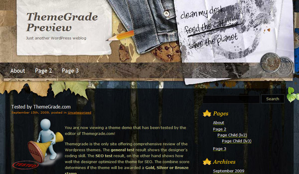 Creative by Nature Theme