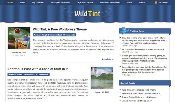 Wild Tint