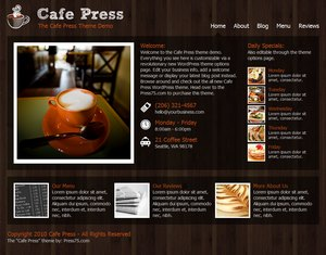 Preview Images for Press75 Premium WordPress Themes