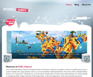 Preview Images for Wobzy Premium WordPress Themes