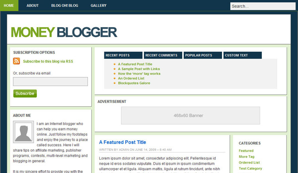 Money Blogger