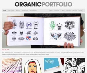 Portfolio Theme by Organic Themes