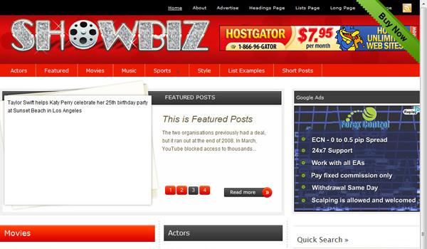 Showbiz Magazine