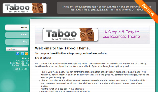 Taboo Small Business