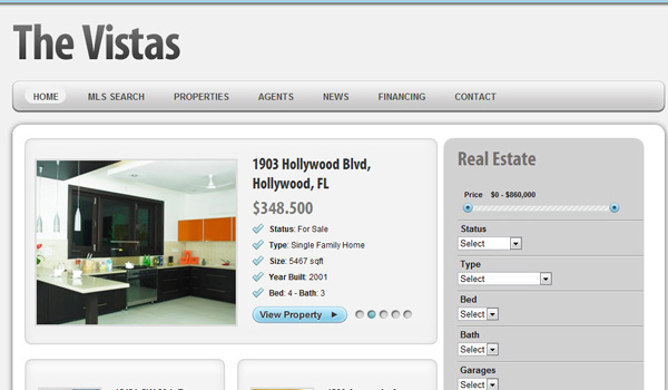 The Vistas Real Estate