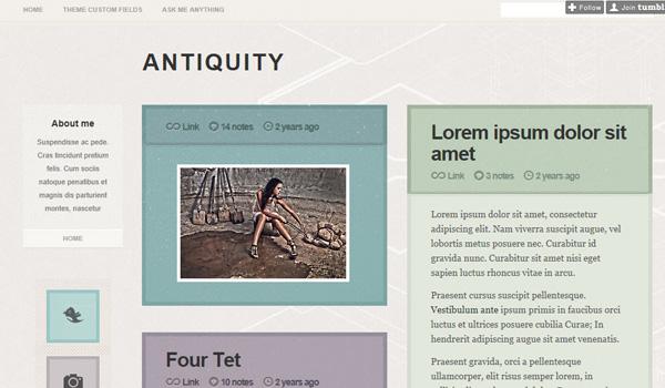 Antiquity Tumblr