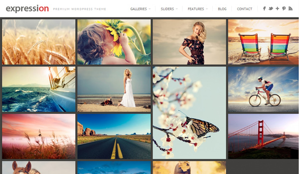 Expression Photography Responsive